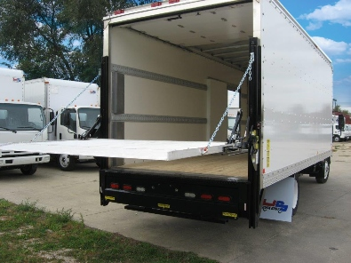 bread truck with liftgate