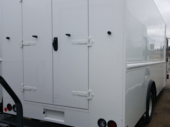 ford stepvan twin swing rear doors